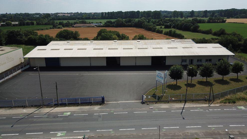 Entrepôt de stockage ACMB à Niort